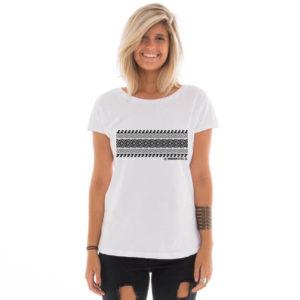 Camiseta feminina com estampa Hawaiian Style