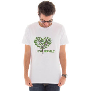 Camiseta masculina com a estampa Eco Friendly model 4