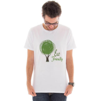 Camiseta masculina com a estampa Eco Friendly model 5