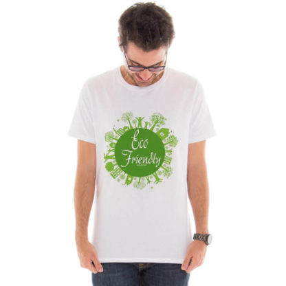 Camiseta masculina com estampa Eco Friendly model 6