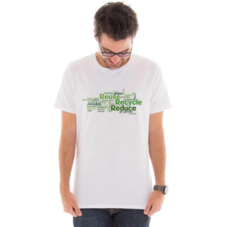 Camiseta masculina com estampa Eco Friendly model 7