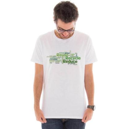 Camiseta masculina com estampa Eco Friendly model 7