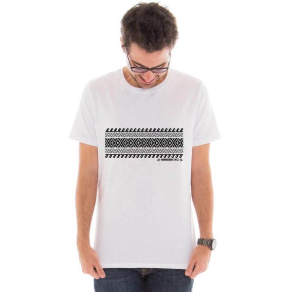 Camiseta masculina hawaiian style