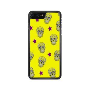 Capa de celular com estampa de caveiras mexicanas