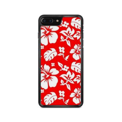 Capa de celular com estampa floral de verão