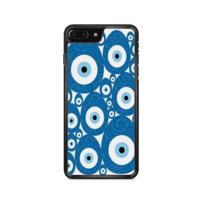 Capa de celular com estampa olho grego