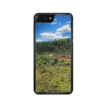 capa de celular com estampa paisagem aérea 3