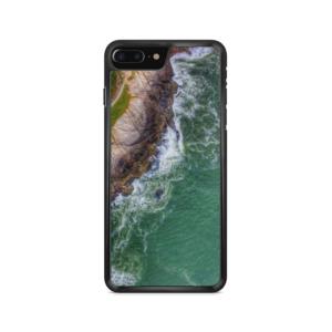 capa de celular com estampa Saquarema imagem aérea