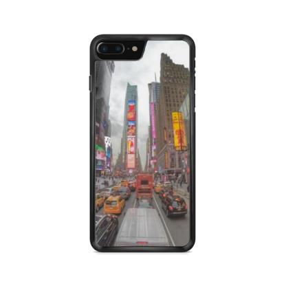 capa de celular com estampa times square