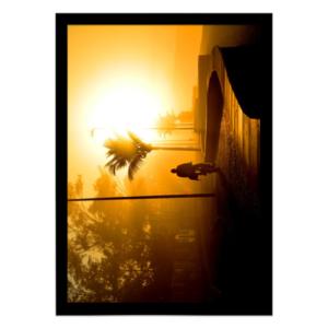 quadro decorativo nascer do sol no rio de janeiro