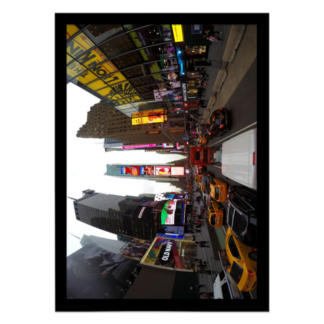 quadro decorativo Times Square